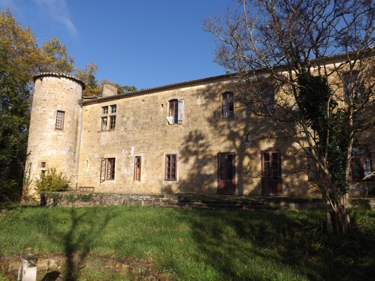 chateau a vendre gers