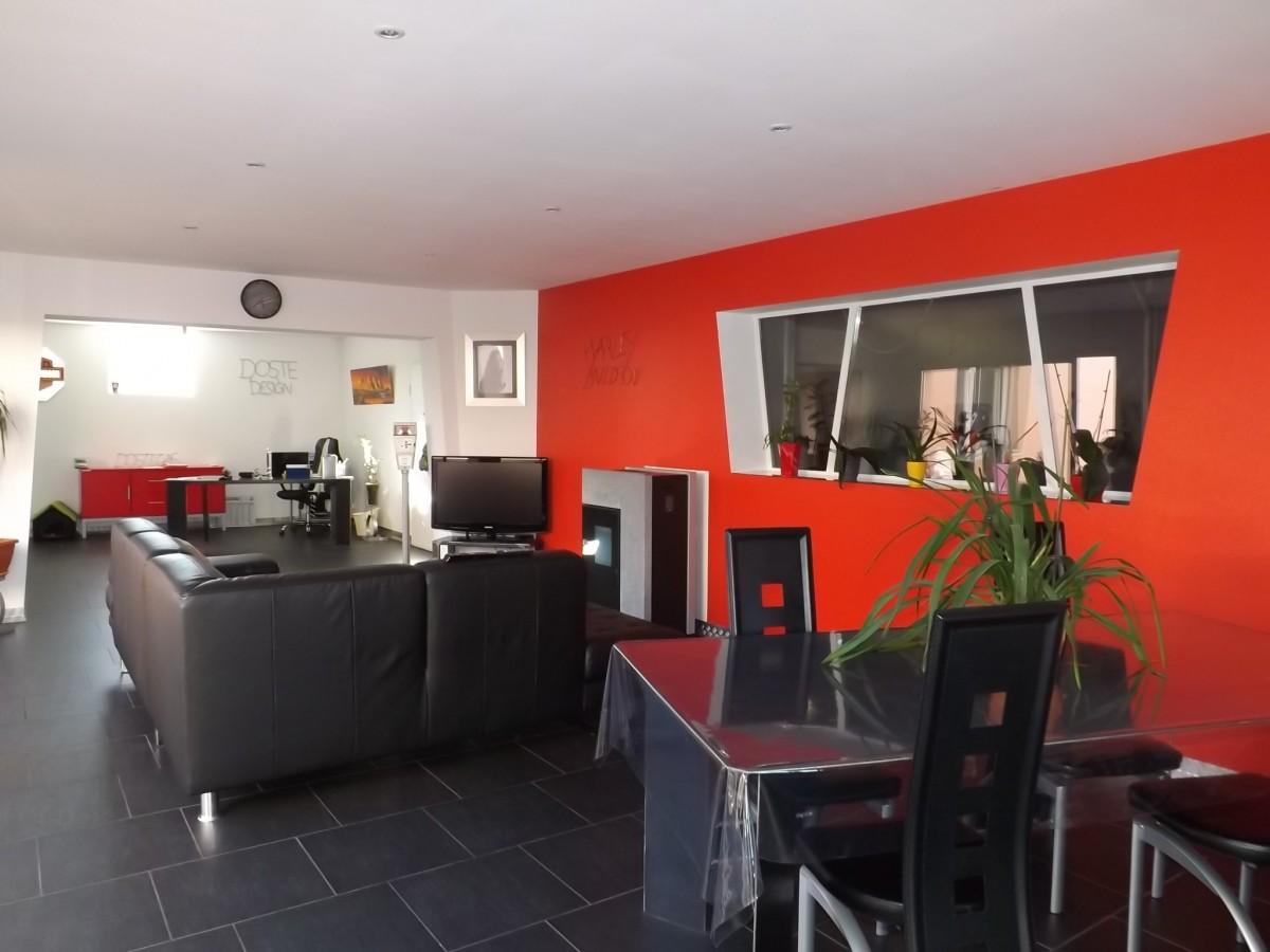 Plain pied style loft d pendances abafim immobilier for Le loft immobilier