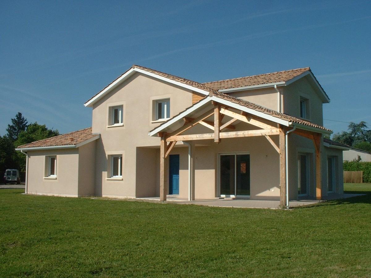 Maison contemporaine 2007 abafim immobilier for Acheter yourte contemporaine