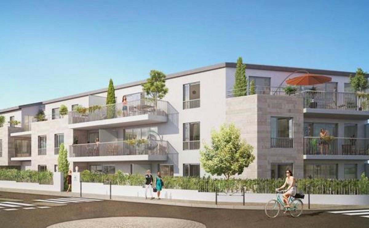 T2 neuf terrasse jardin abafim immobilier for Terrasse jardin immobilier