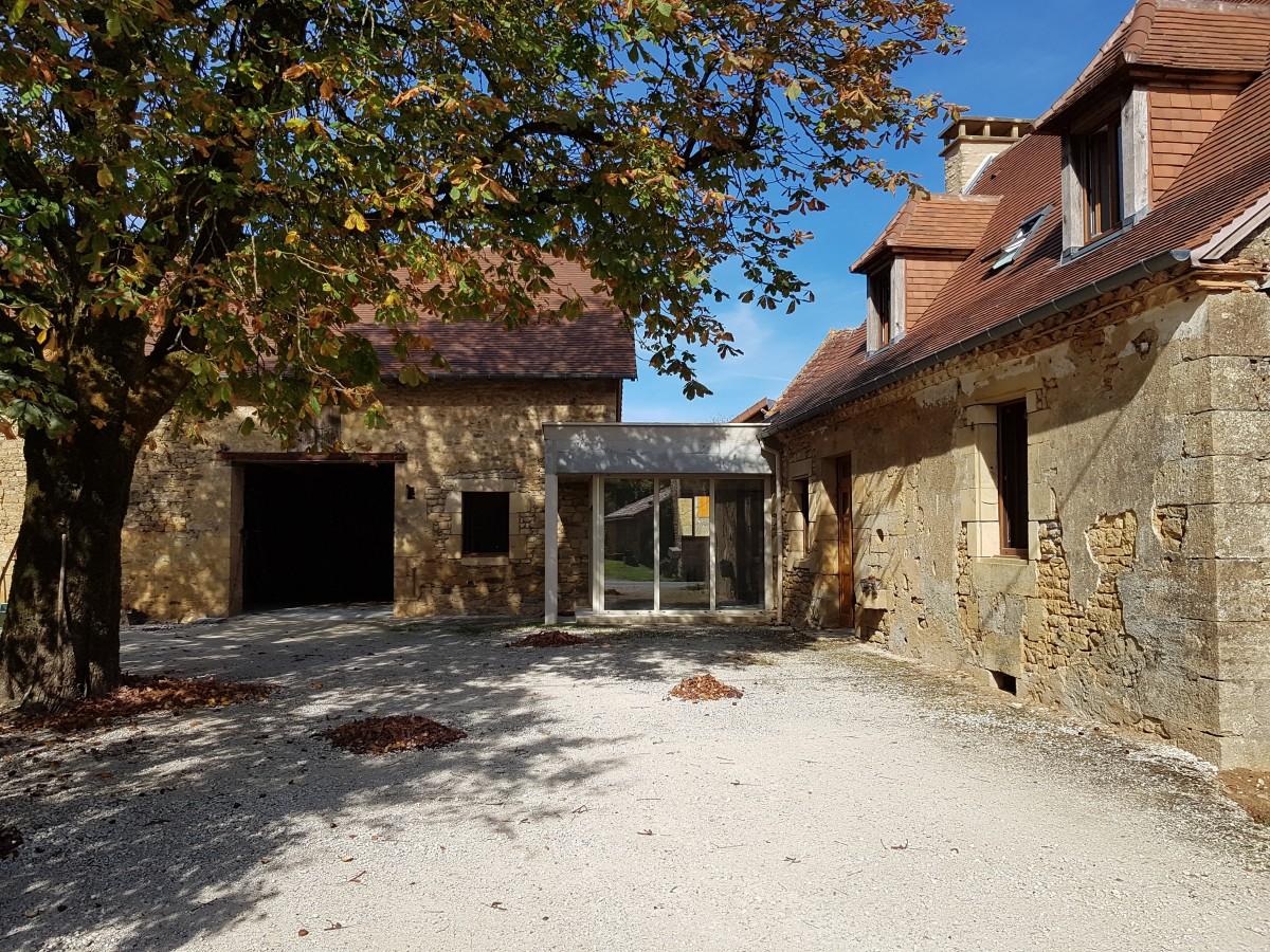 Demeure D Antan Périgueux magnifique corps de ferme restauré, abafim immobilier
